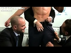 Hellish hot men strip guy in the office on cmnm galleries