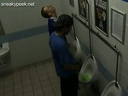 Lads take a piss on amateur gay hidden cam videos