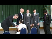 Groom's wedding interrupted