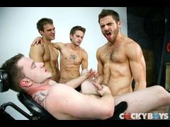 Gabriel, Mason, Tommy and David