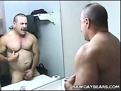 A horny cop showering and more alone
