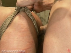 In this week's dungeon scene with two hot guys fucking