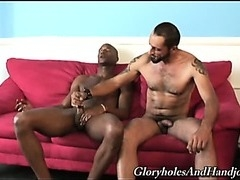 Tom is young black man with a huge throbbing cock
