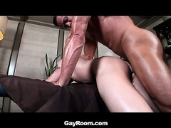 A hot college jock has an interesting experience during a massage