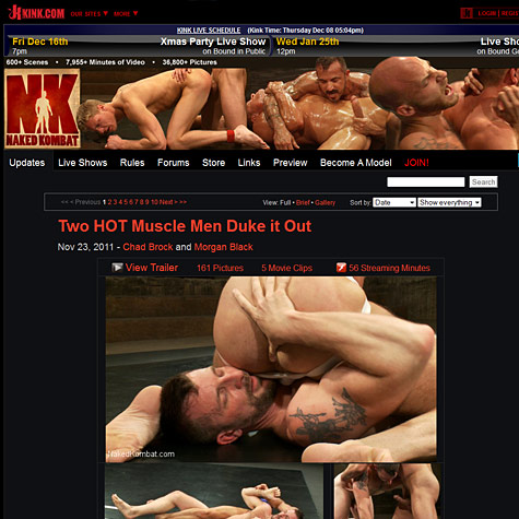Click to enlarge Naked Kombat screenshot