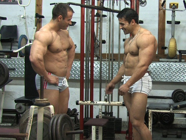 Cuntbusting two hot muscle guys kick girl039s pussy 3